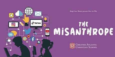 "High School Drama Presents ""The Misanthrope"" (Saturday, 7pm)"