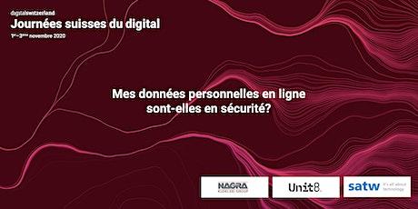 Mes données personnelles en ligne sont-elles en sécurité? billets