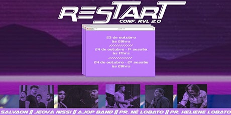 Conferência RVL - ReSTART ingressos