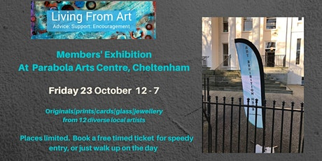 Living from Art members exhibition Friday 23 October tickets