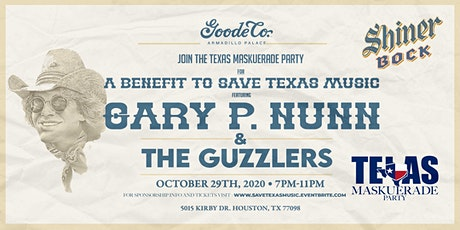 Save Texas Music Concert and Fundraiser with Gary P. Nunn tickets