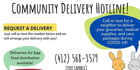 Volunteer Training - Community Delivery Hotline tickets
