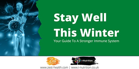 Stay Well This Winter - A Joint Webinar from i-Nutrition and Zest Health