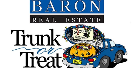 Baron Real Estates' First Annual Trunk or Treat tickets