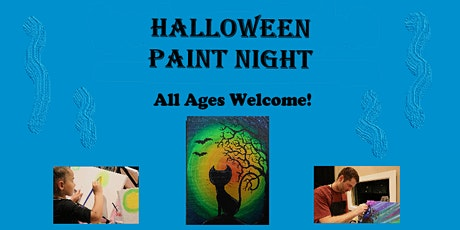 HALLOWEEN Paint Night @ Jay C's Diner!  -- Covid Safe & Kid Friendly! tickets