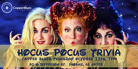 Hocus Pocus Trivia at Copper Blues Rock Pub and Kitchen tickets