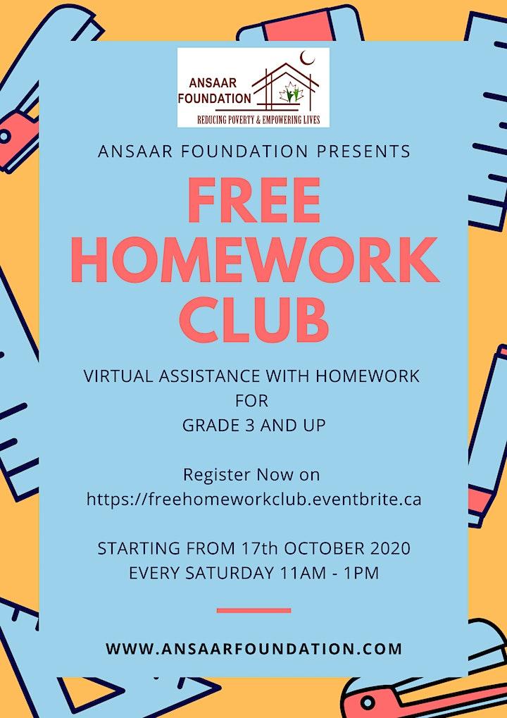 Free Homework Club image