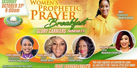 GLORY CARRIERS - Women's Prophetic Prayer Breakfast tickets