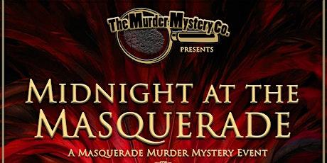 Midnight at the Masquerade! A Killer Halloween Dinner Event!