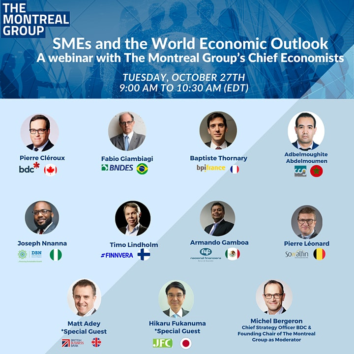 SMEs and the World Economic Outlook- A webinar with Chief Economists image