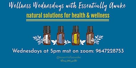 Wellness Wednesday - Natural ways to support a better night's sleep tickets