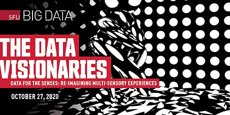 The Data Visionaries Series - Data for the Senses tickets