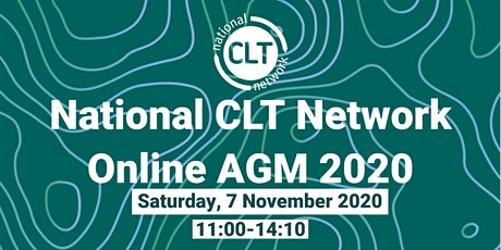 National CLT Network Online AGM 2020 tickets