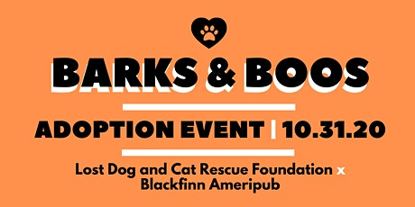 Barks and Boos Adoption Event tickets