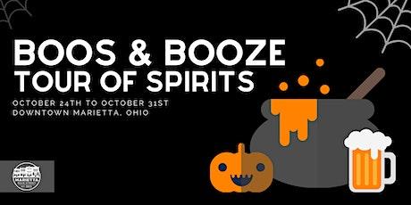 Boos & Booze Tour of Spirits tickets