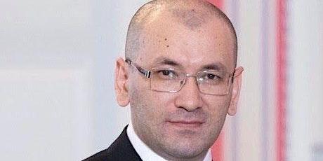 A Visit with HE Javlon Vakhabov, Uzbekistan Ambassador to the US tickets