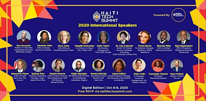 HAITI TECH SUMMIT 2020  (Virtual) image