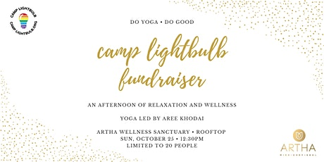 Camp Lightbulb Fundraiser: Do Yoga, Do Good tickets