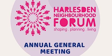 Harlesden Neighbourhood Forum -  Annual General Meeting tickets