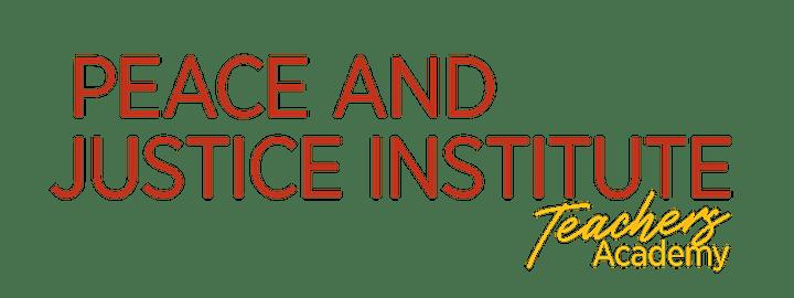 PJI Teachers Academy 2021 Session 2 image