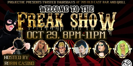 Twisted Thursdays: Gay Nights [Welcome To The Freak Show] tickets