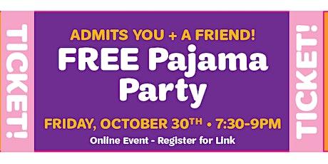 Halloween PJ Party tickets