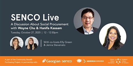 SENCO Live: A Discussion About Social Procurement with AnchorTO tickets