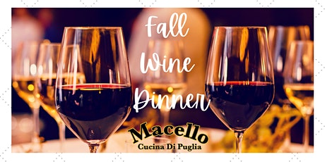 Fall Wine Dinner....Italian Style! tickets
