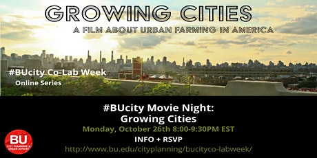 #BUcity Movie Night: 'Growing Cities' tickets