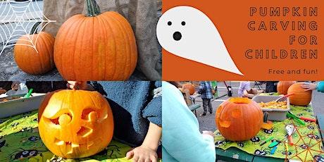Free Pumpkin Carving! tickets