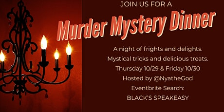 Murder Mystery Dinner at Black's Speakeasy tickets