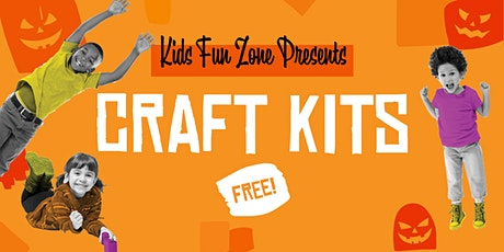 FREE Halloween Craft Kits At  Crenshaw Imperial Plaza Kids Fun Zone tickets