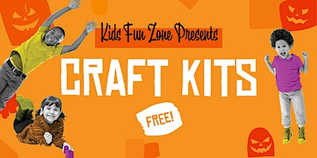 FREE Halloween Craft Kits At  Anaheim Town Square's Kids Fun Zone tickets