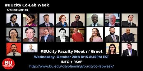#BUcity Faculty Meet n' Greet tickets