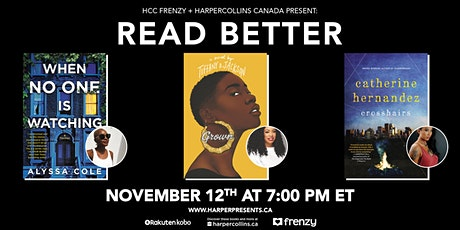HCC Frenzy + HarperCollins Canada Present: Read Better tickets