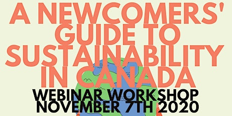 OBEC Newcomers Sustainability Workshop tickets