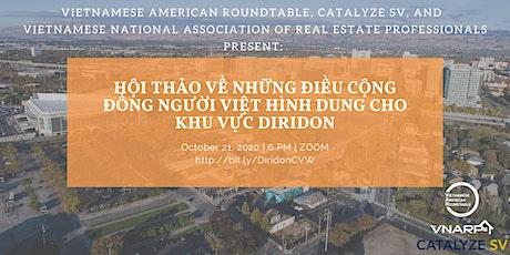 Community Visioning Workshop on Diridon Area for Vietnamese Community tickets