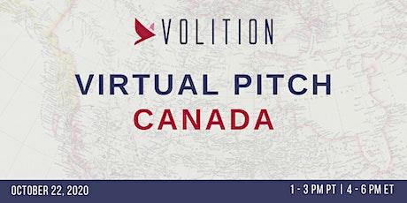 Pitch Canada (virtual) | October 22 tickets