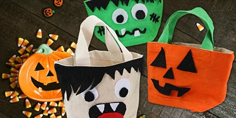 Customisation sacs à bonbons Halloween billets