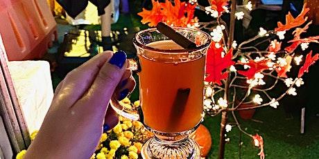 Drunken Pumpkin: Pumpkin Decorating x Fall Cocktails x Halloween Movies tickets