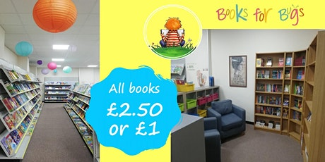 Books for Bugs Showroom Open Day tickets