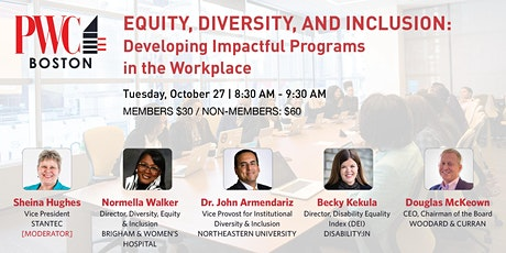 Equity, Diversity, and Inclusion tickets