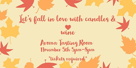 Wicks & Sips at Aroma tickets