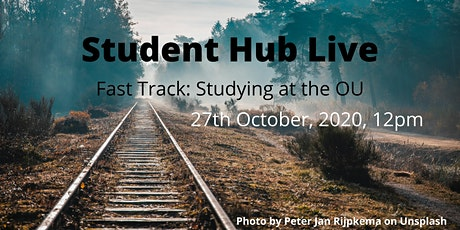 FAST TRACK:   Studying at the OU – how to get on track  (12:00-13:00) tickets