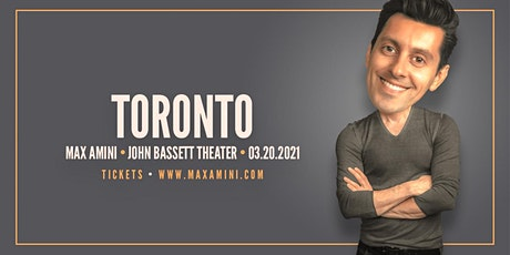 Max Amini Live in Toronto - 2020 World-Tour - ***8:00PM*** tickets