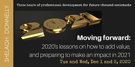 Moving Forward: Career Insights & How To Position Yourself for 2021, w/SD tickets
