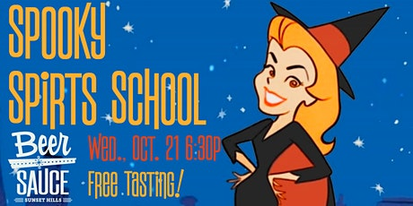 Spooky Spirits Tasting and School tickets