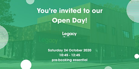 Legacy Youth Zone Community Open Day - 10:45 session tickets