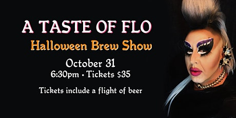 A Taste Of Flo Halloween Brew Show at Rebellion tickets