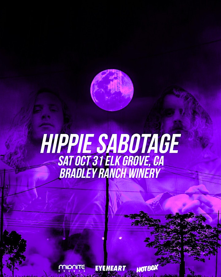 Halloween with Hippie Sabotage at Bradley Ranch (LIVE Drive-In Concert) image